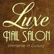 Luxe Nail Salon - Denton Logo