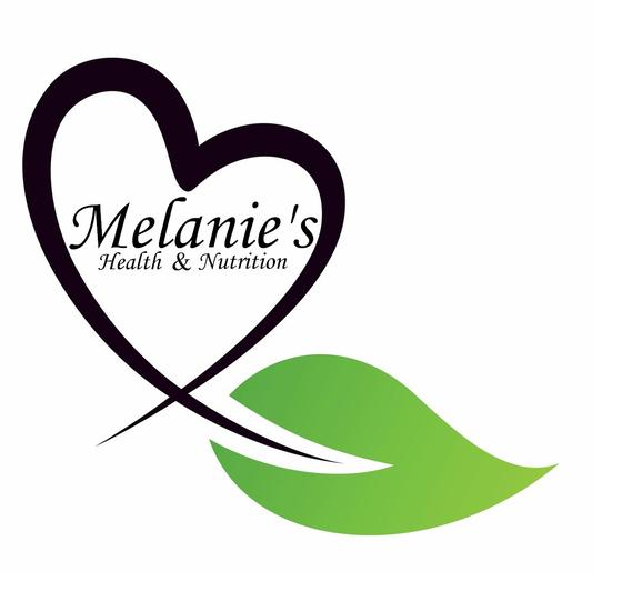 Melanie's Health & Nutrition Logo