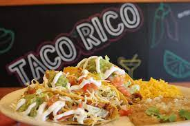 Taco Rico Monarca - Chicago Logo