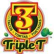 TripleT  Tacos Tortas Tostadas Logo