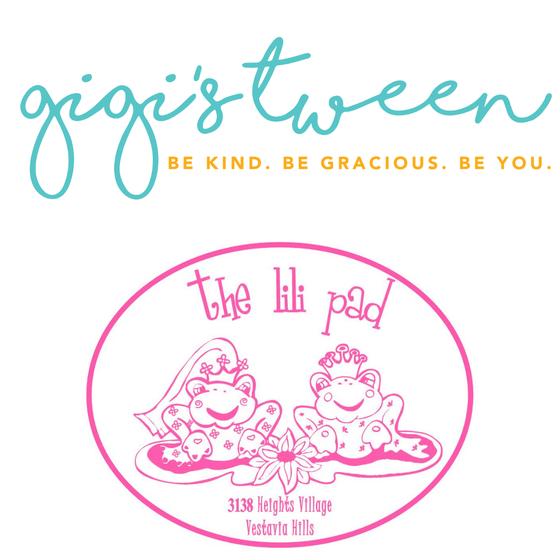 GiGi's Teen & The Lili Pad Logo