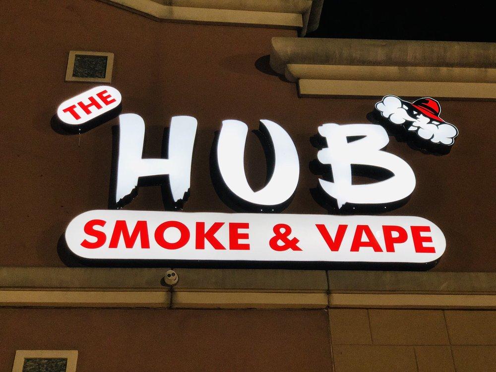 Hub Smoke and Vape - Houston Logo