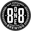 8 one 8 Brewing (818) Logo
