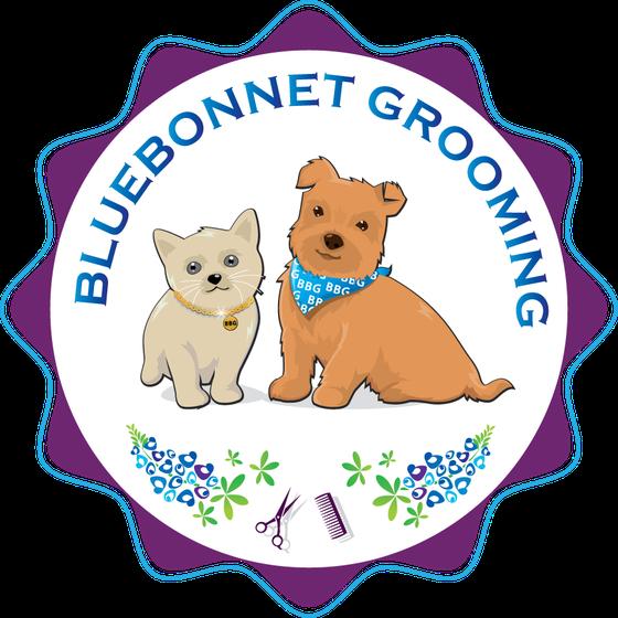 Bluebonnet Grooming Logo