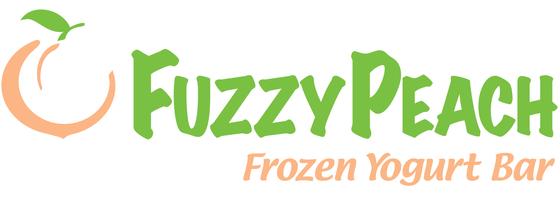 The Fuzzy Peach Logo