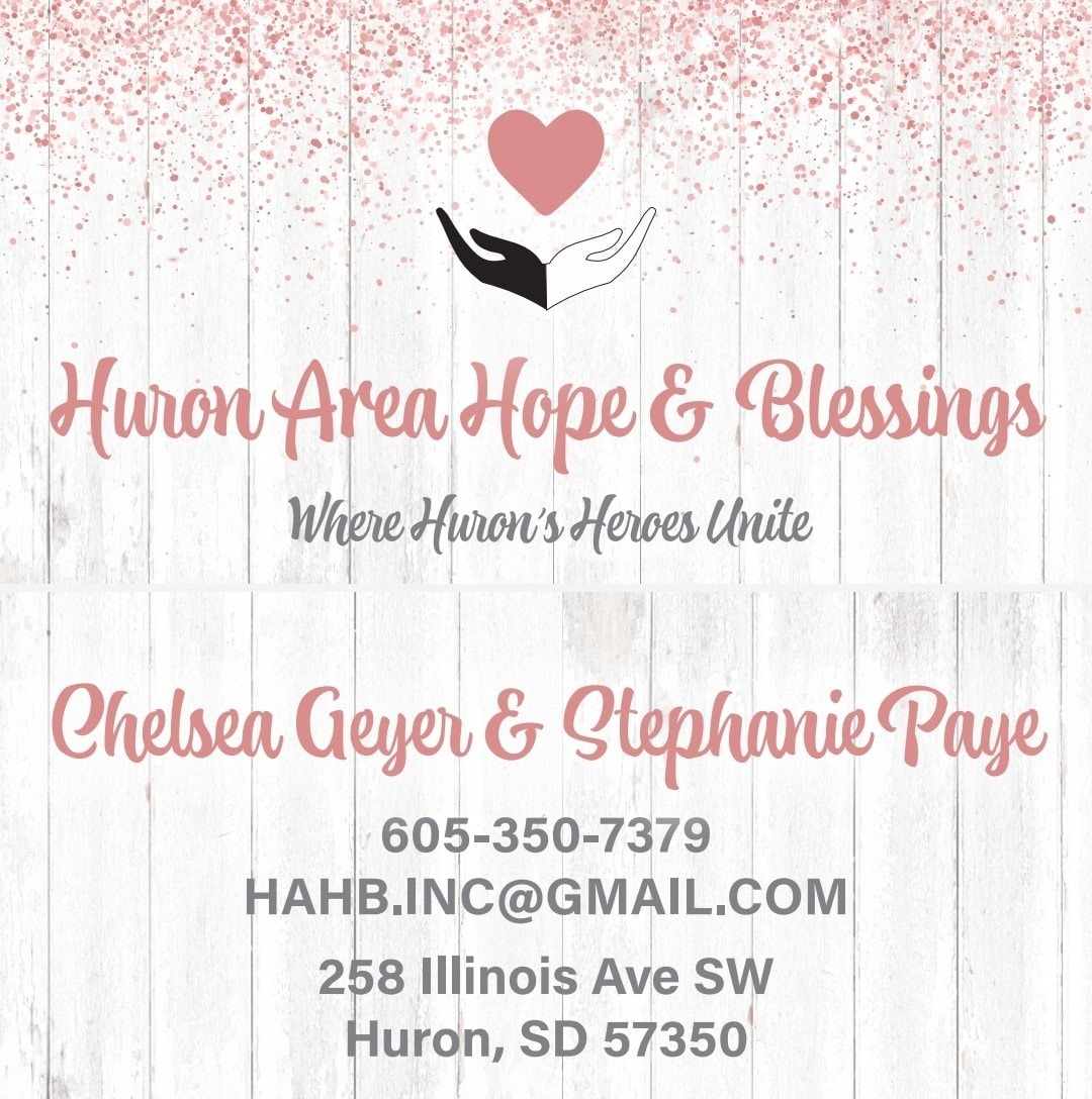 Huron Area Hope And Blessings Logo