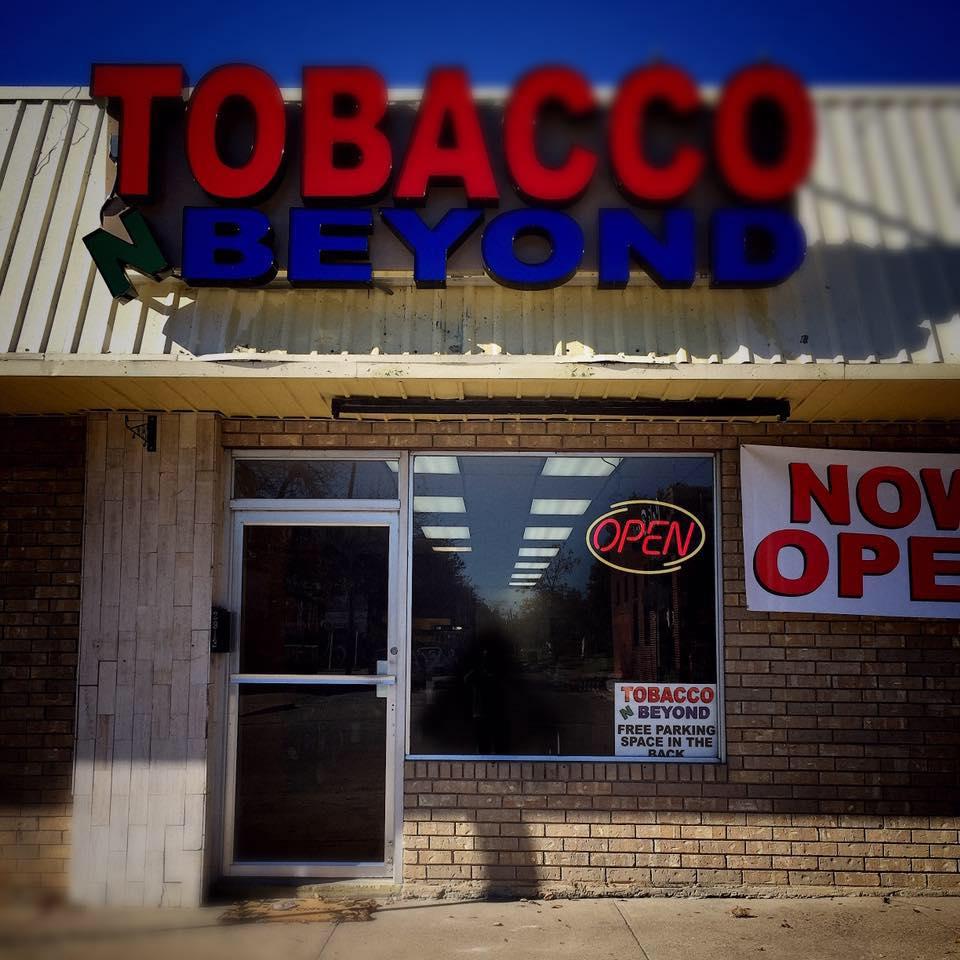 Tobacco N Beyond - Fort Worth Logo