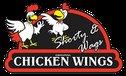 Shorty & Wags Wings - Gilbert Logo