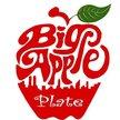 Big Apple Plates  Logo