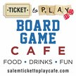 Ticket To Play Board Game Cafe Logo