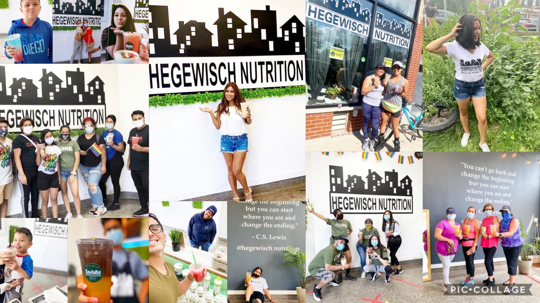 Hegewisch Nutrition Logo