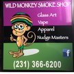 Wild Monkey Smoke Shop Logo
