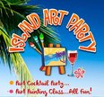 Island Art Party - Kihei Logo