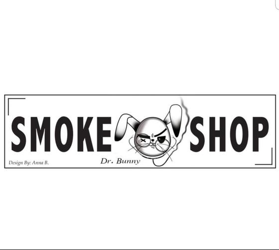 Dr. Bunny Smoke Shop Logo
