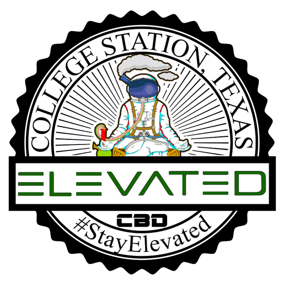 Elevated CBD + Smoke Logo