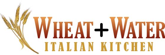 Wheat + Water Italian Kitchen Logo