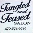 Tangled and Teased Salon  Logo