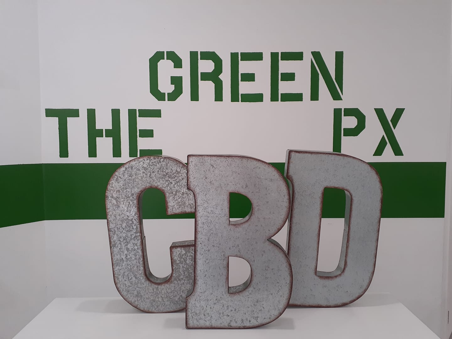 The Green Px Logo