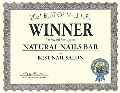 Natural Nails Bar Logo