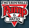 The Erin Mills Pump & Patio Logo