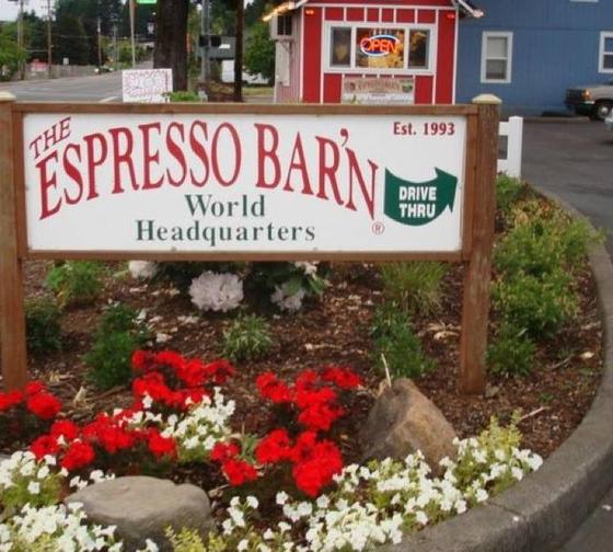 The Espresso Barn Logo