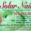 SOLAR NAILS ( WAKE FOREST NC ) Logo