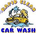 Rapid Clean Car Wash Logo