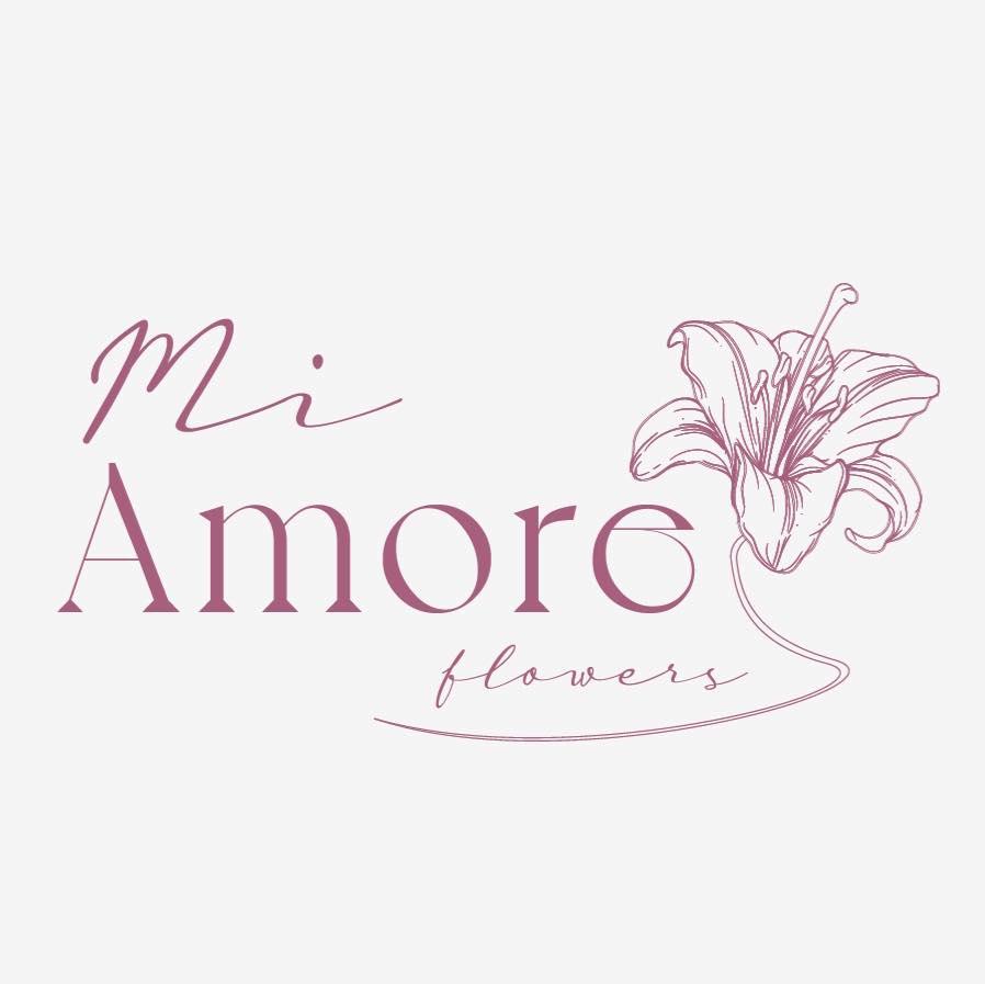 Mi Amore Flowers - Glendale Logo