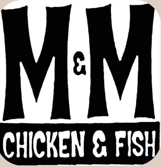 M & M Chicken & Fish Logo
