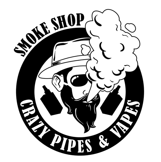 Crazy Pipes &Vapes-Chattanooga Logo