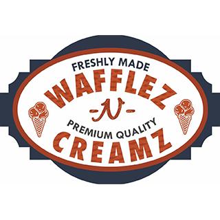 Wafflez N Creamz Logo