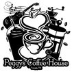 Peggy's Coffee House - Temple Logo