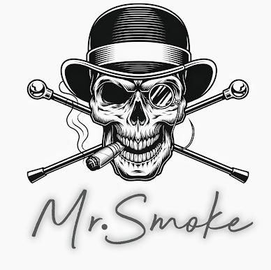 Mr. Smoke - Stuart Logo