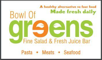 Bowl of Greens Fine Salads Logo