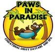 Paws in Paradise - Leduc Logo