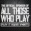 Play It Again Sports Cuy Falls Logo