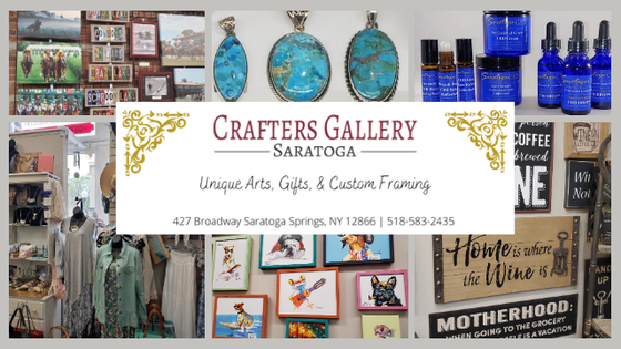 Crafters Gallery - Saratoga Logo