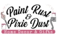 Paint Rust and Pixie Dust Logo
