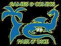 Games & Comics Pair O'Dice  Logo