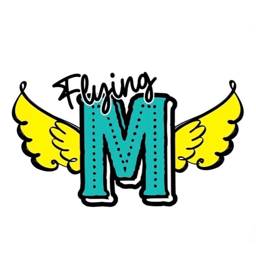 Flying M Feed Co - Houston Logo