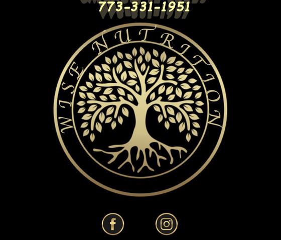Wise Nutricion - Chicago Logo
