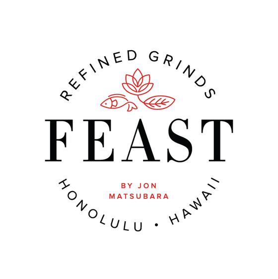 Feast by Jon Matsubara Logo