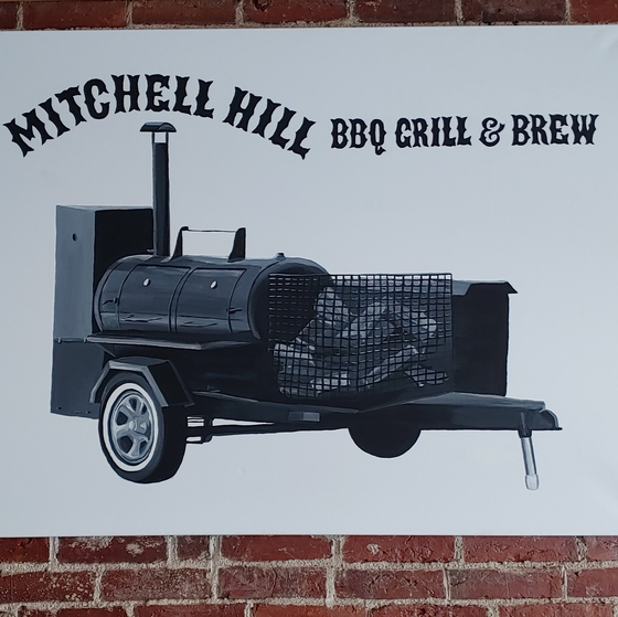 Mitchell Hill BBQ Logo