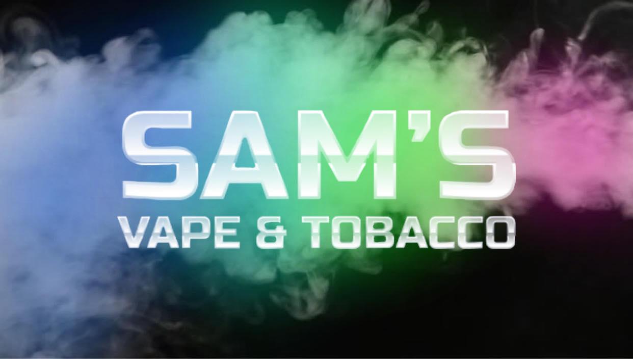 Sam's Vape & Tobacco - Garland Logo