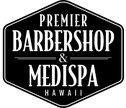 Premier Barbershop & Medispa Logo