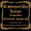 The Monogram Shop - Springboro Logo