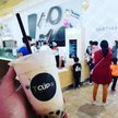T Cup Bubble Tea  Logo