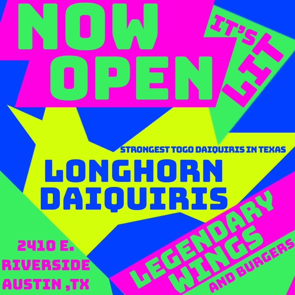 Longhorn Daiquiris - Austin Logo