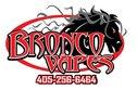 Bronco Vapes - Mustang Logo