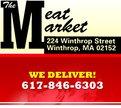 The Meat Market - Winthrop Logo